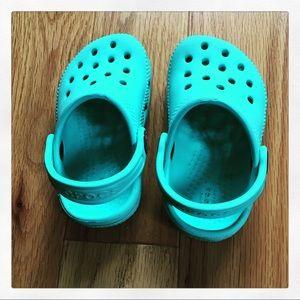 CROCS Baby turquoise blue (C5)